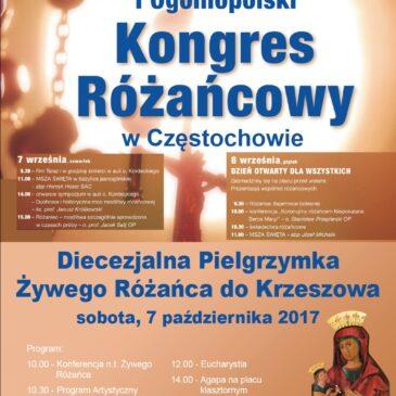 I Ogólnopolski Kongres Różańcowy, 7-8 września 2017