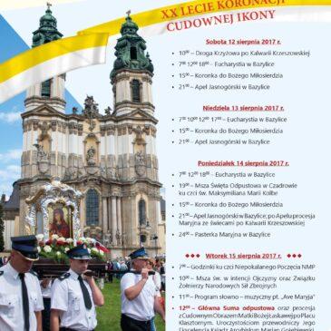 Wielki Odpust Krzeszowski, 12-15 sierpnia 2017