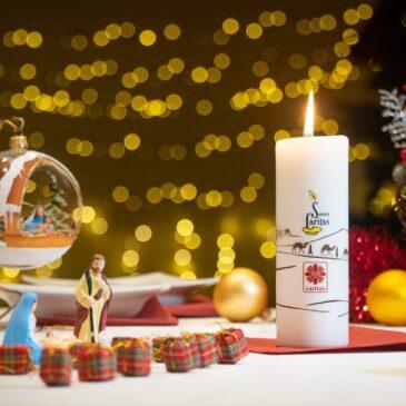 Wigilijna świeca na polskich stołach